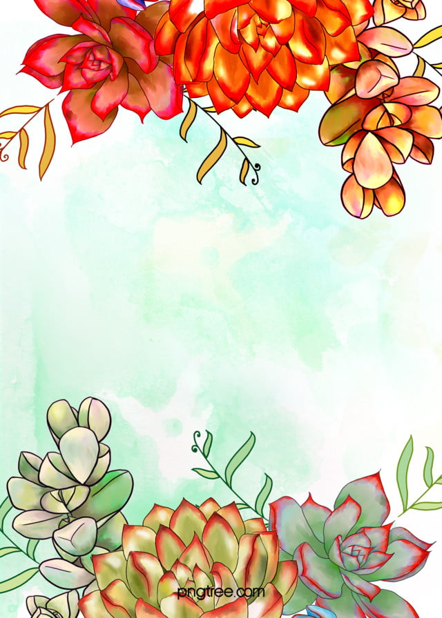 Fall Leaf Pattern Wallpaper Vector Watercolor Leaves Fall Leaves Background Material