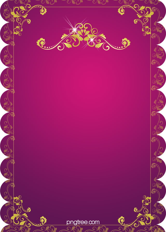 H5 Wedding Invitation Vector Background Material, Wedding