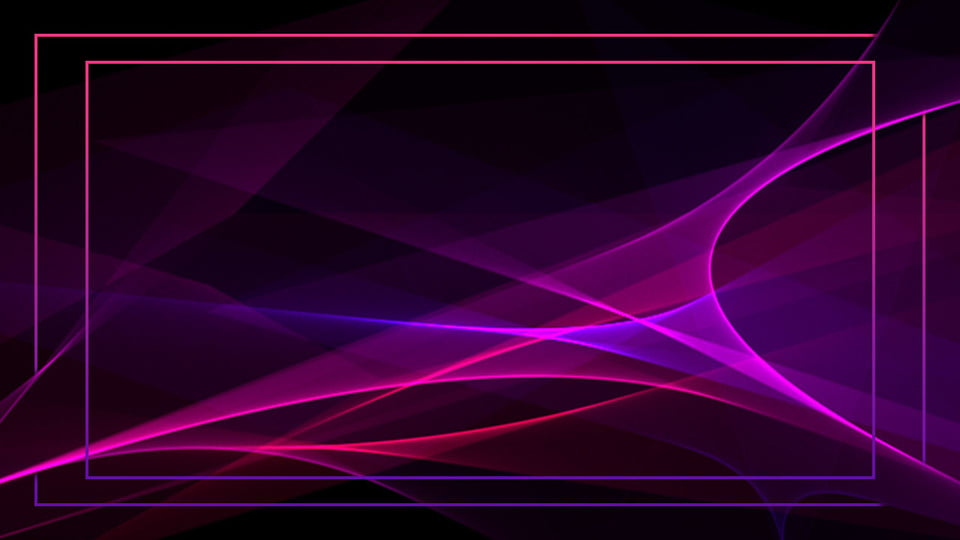 Pink Purple Creative Technology Glare Ppt Background Material