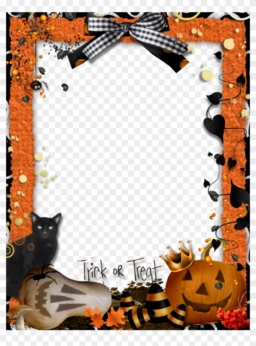 Recuadros Para Fotos Gratis Halloween Border Download Transparent Png Image Marcos Para