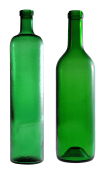 Empty Glass Bottle Clipart