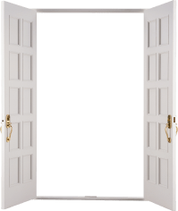 Open door PNG - PNG image with transparent background