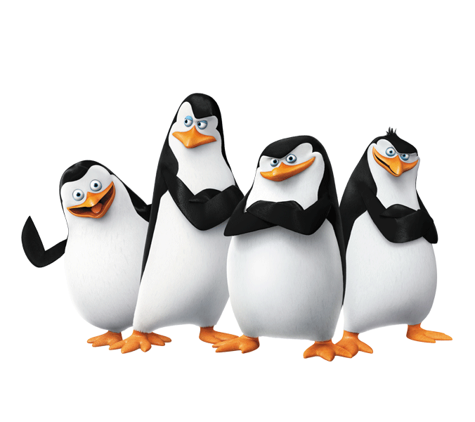 Animated Happy Birthday Wallpaper Free Download Madagascar Penguins Png Images Free Download