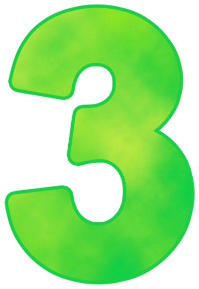 Number 3 PNG images free download, 3 PNG