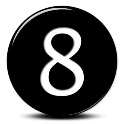 Number 8 PNG images free download, 8 PNG