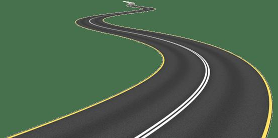 3d Curved Wallpaper Road Png Images Highway Png Download