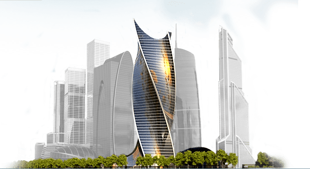 Minecraft Wallpaper 3d Skyscraper Png
