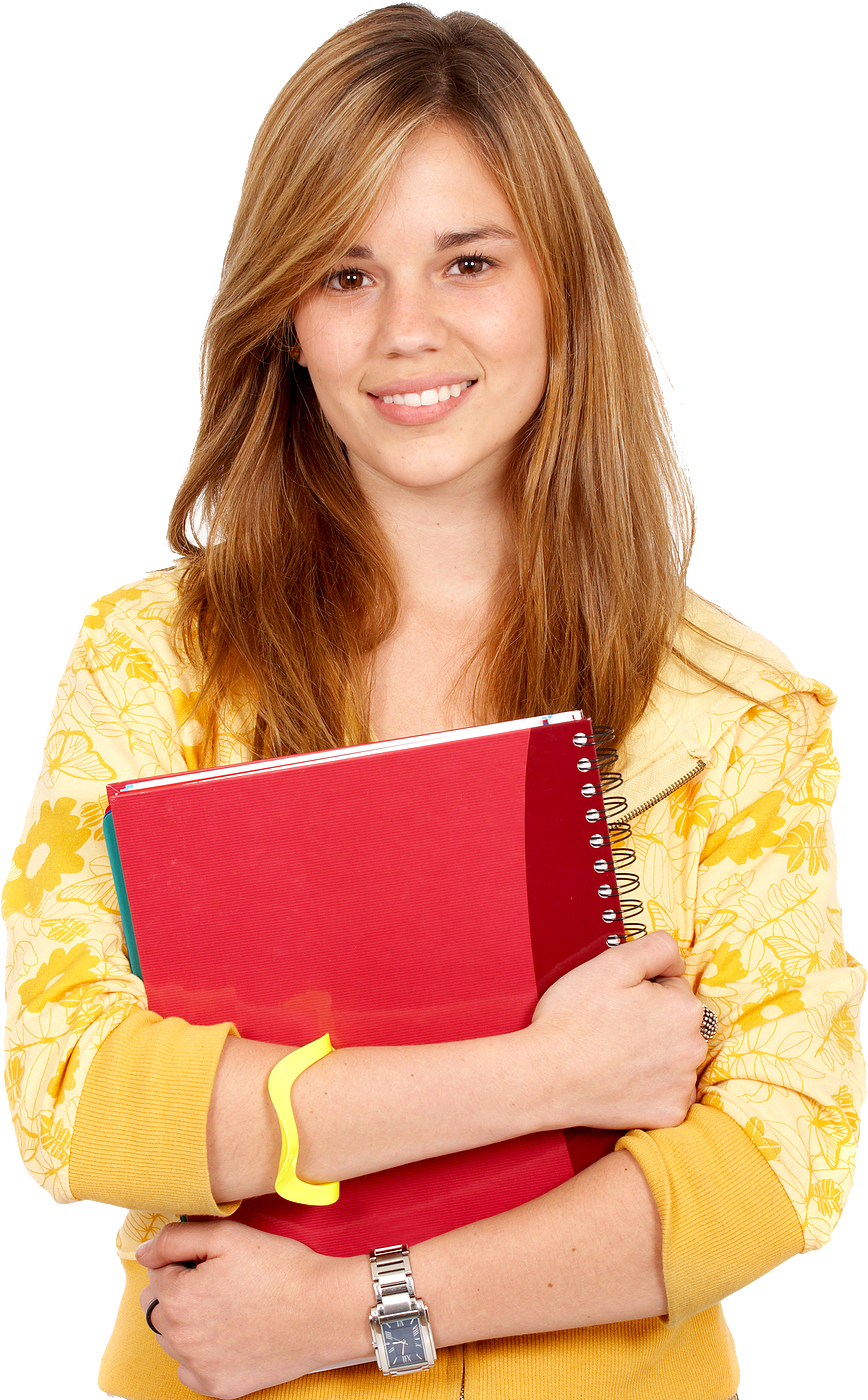 Girl Studying Wallpaper Student Png