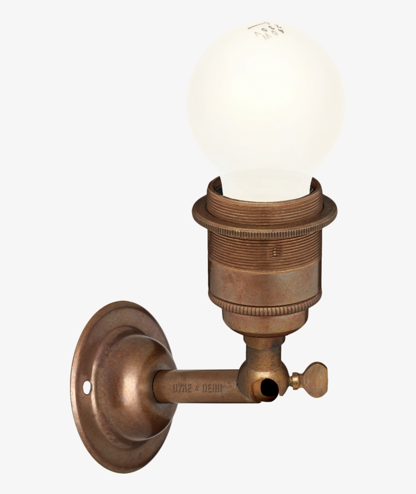Bronze Effect E27 Wall Arm Lights Lamp Free Transparent Png Download Pngkey