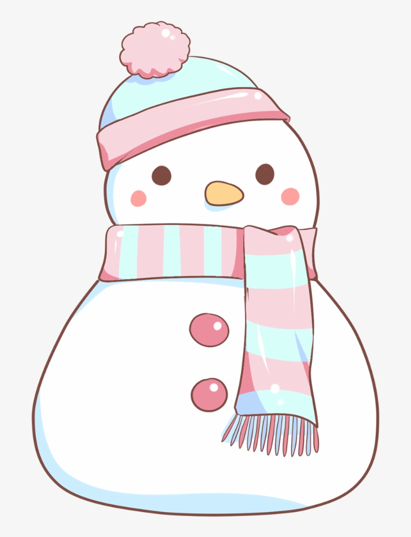 48 Snowman Kawaii Snowman Png 821x1080 Png Download Pngkit