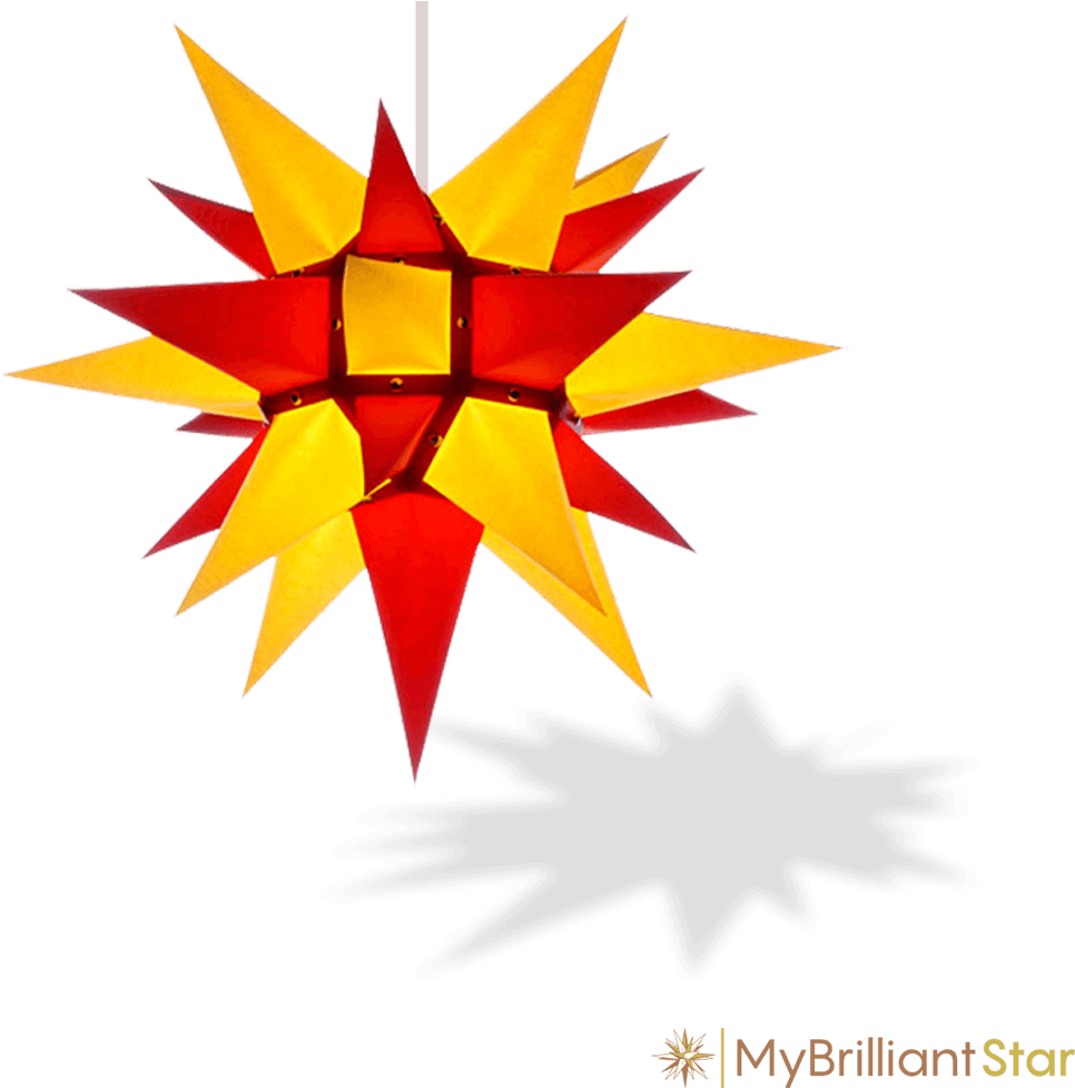 Herrnhuter Stern Weiß Download Original Herrnhut Paper Star Yellow Red 40 Cm