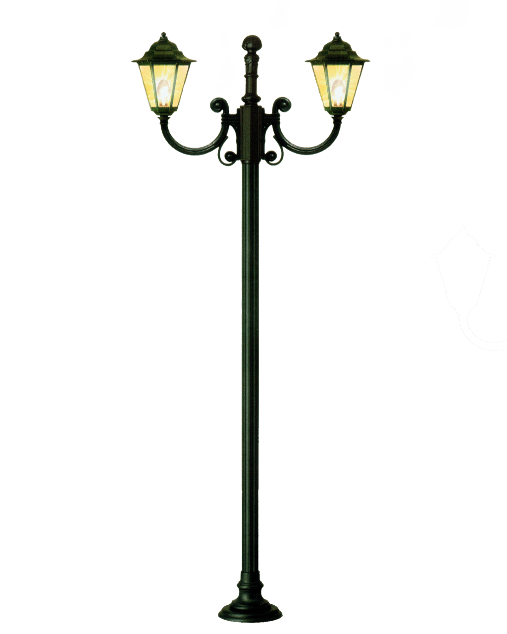 Cartoon Lamp Post Light Png Png Mart