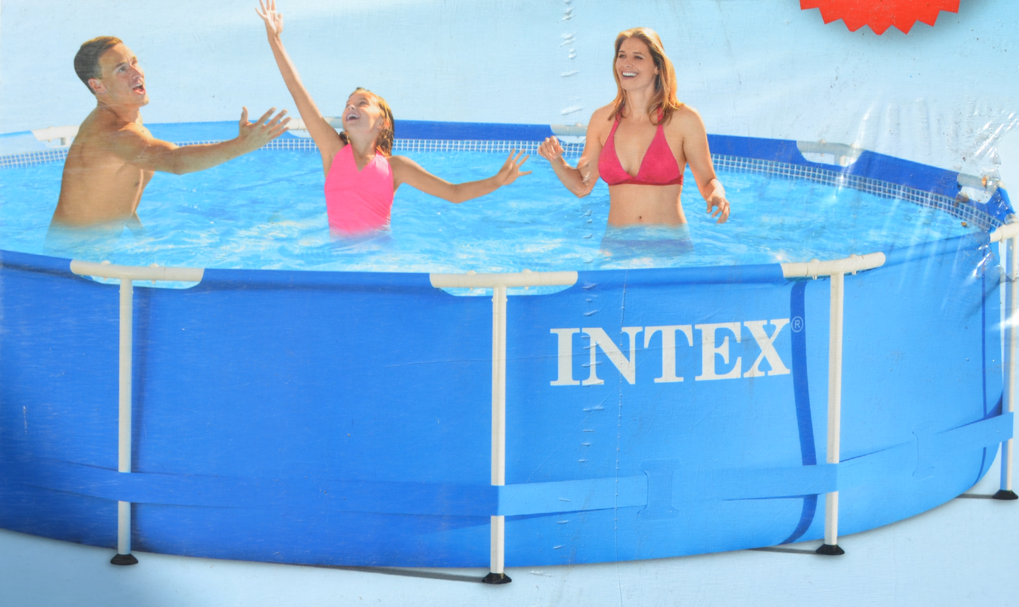Intex Pool Ohne Filteranlage Intex Swimming Frame Pool Schwimmbad 366x84cm