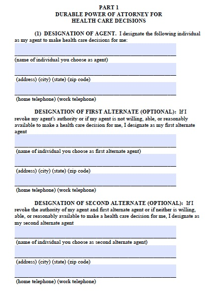 Free Alaska Medical Power of Attorney Form Template - Medical Power Of Attorney Form