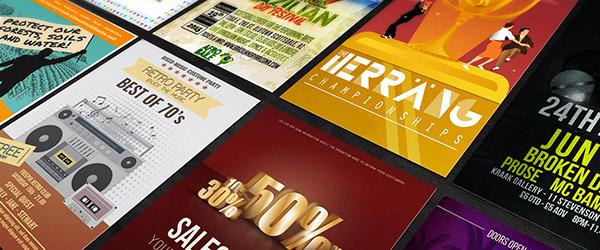 Flyer template duizenden gratis ontwerpen