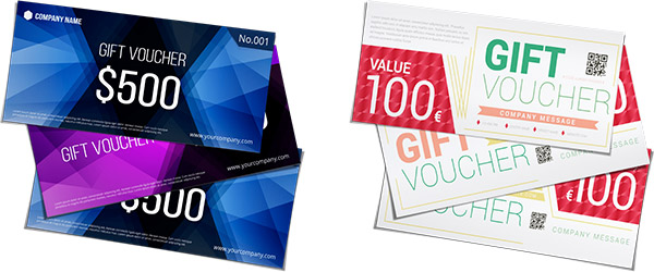 Gift vouchers Make your own online and for free - Make Your Own Voucher