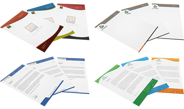 Attractive letterheads Examples and explanation