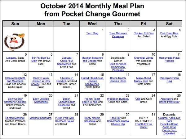 monthly meal plans - Canasbergdorfbib