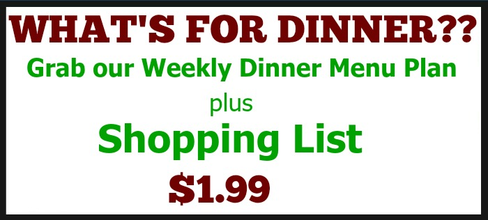 Weekly Menu Plan March 13 Recipe Pocket Change Gourmet