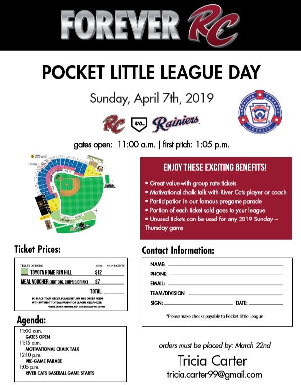 Schedule Pocket Little League