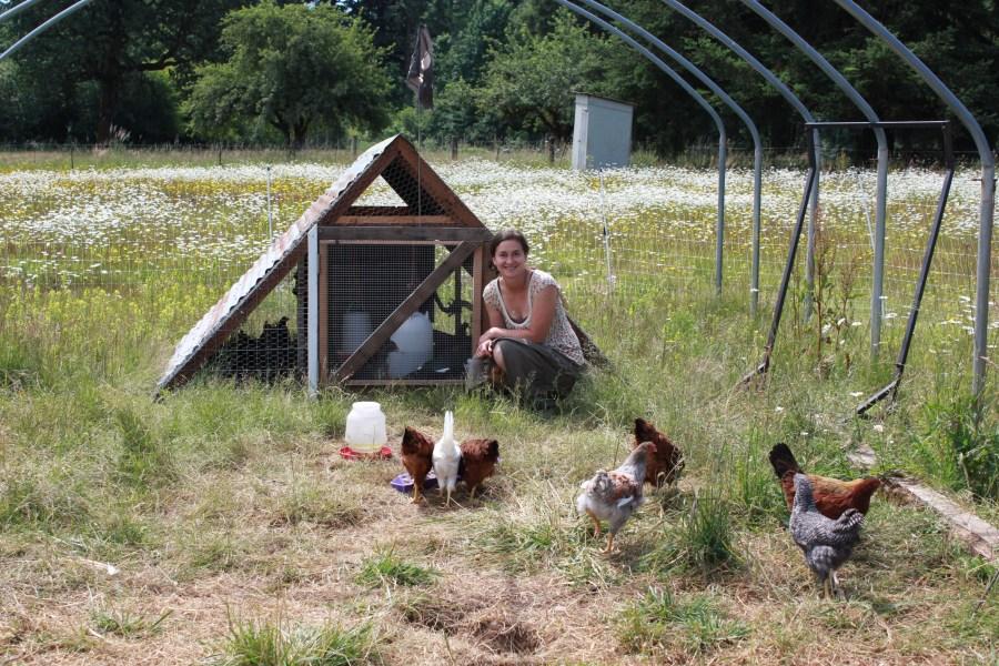 Miranda Rommel of Birdsong Farm