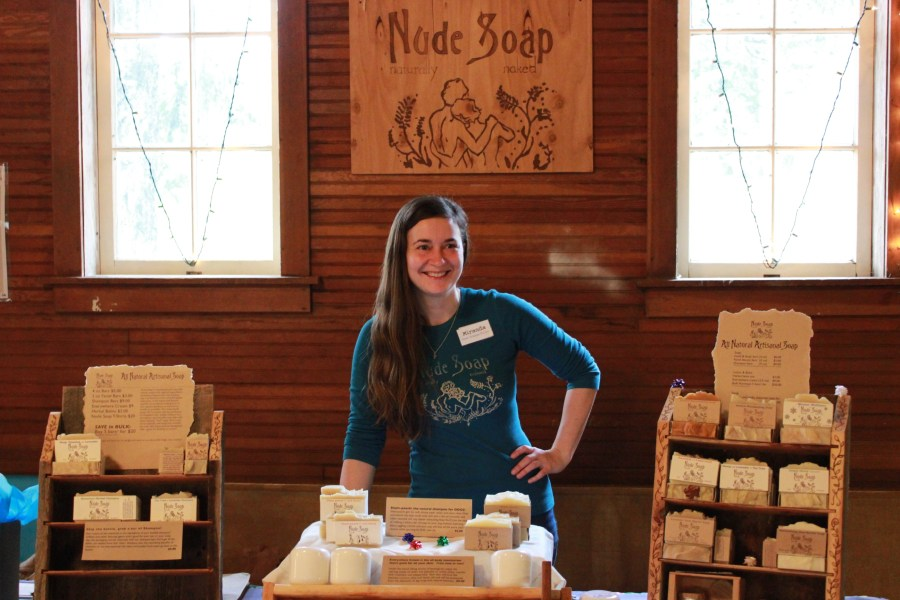 Miranda of Nude Soap, Fiber Friends and of course: Pocket Pause!