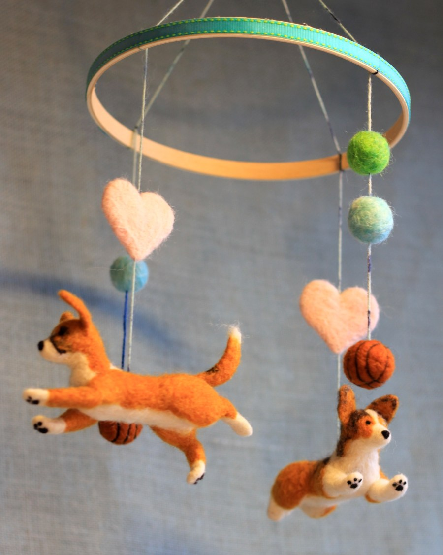 Felt Mobile to Match Your Pet - Fiber Friends