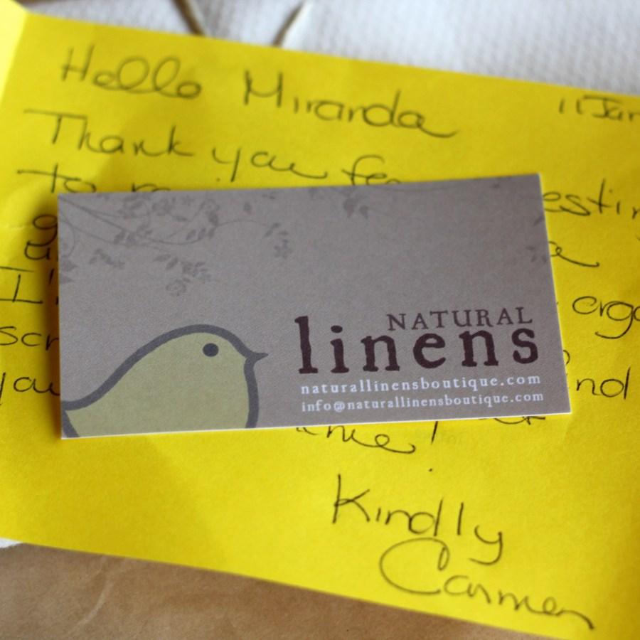 Natural Linens