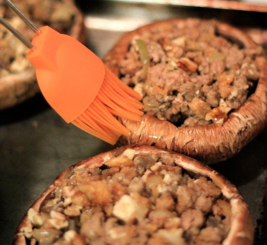 Stuffed Portobellos - Appetizers for Dinner