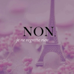 Free Printable – La Vie En Rose Paris Print