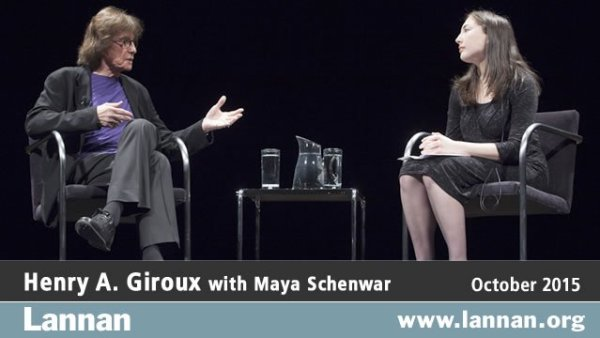 Henry A. Giroux with Maya Schenwar, 14 October 2015