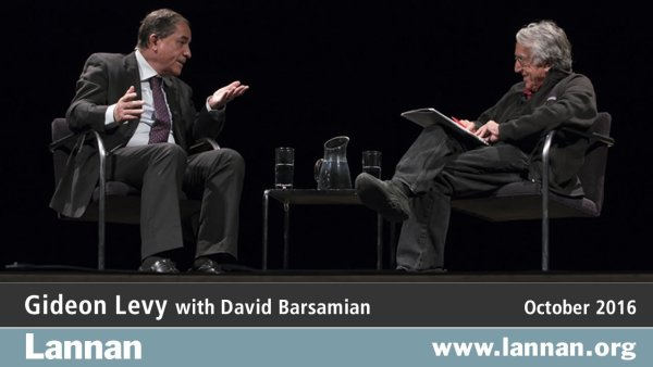 Gideon Levy with David Barsamian