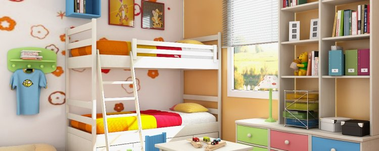 Beautiful Colorful Bedroom Interior Design