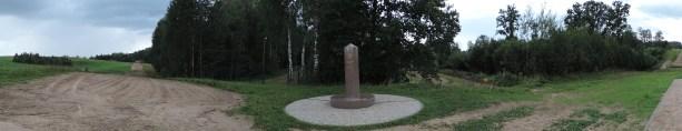 Trójstyk granic Polski, Litwy i Rosji - Panorama