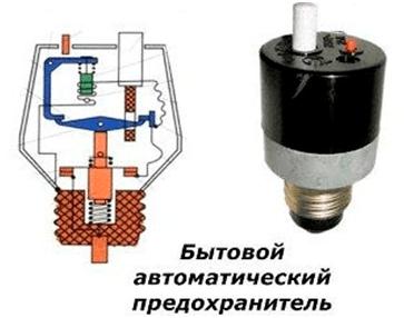 Автоматические электромеханические предохраняющие устройства
