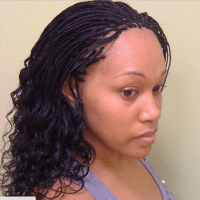 Micro Braids Hairstyles - How to Style, Pictures, Video ...