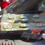 baking cookies on the dashboard