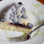 blueberry ricotta cake