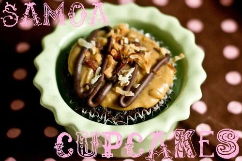 one samoa cupcake