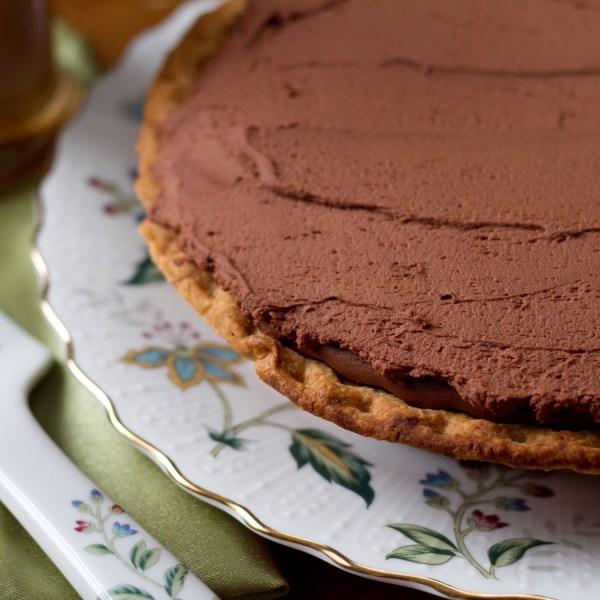 Irish Coffee Chocolate Tart