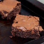 Olive Toffee Brownies