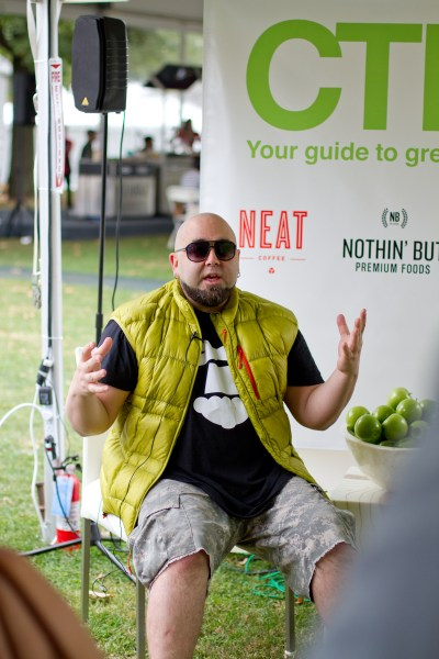Chef Duff Goldman - poet in the pantry