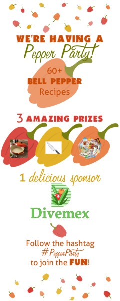 #PepperParty prize graphic