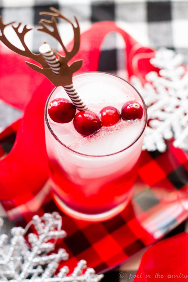 Serve the Cranberry Gin Fizz at your next holiday shindig and spread the smiles!