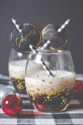 Make your nog safe again with Safest Choice eggs! (Then make this Eggnog White Russian!) #sponsored #safenog