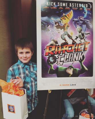 My family and I were invited to a premiere for the new Ratchet and Clank movie in NYC! #ad #ratchetandclankmovie #sk