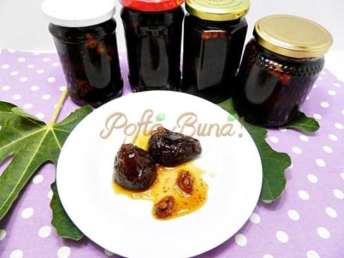 Dulceata de smochine (smochine caramel
