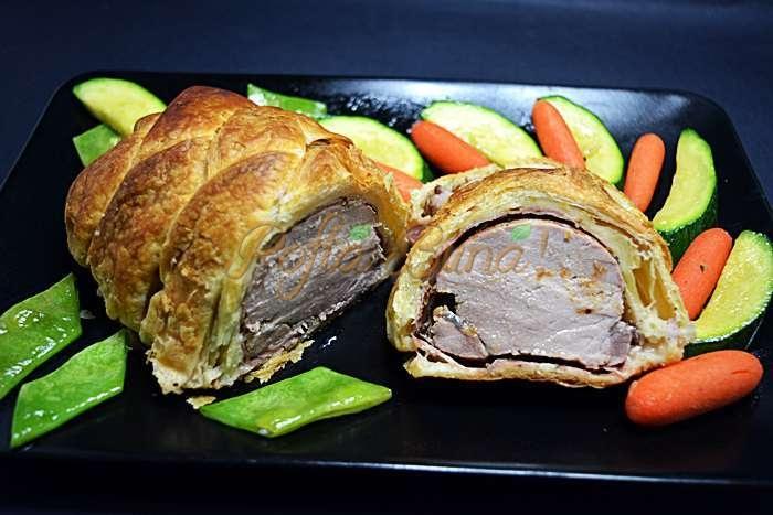 Muschiulet de porc in foietaj