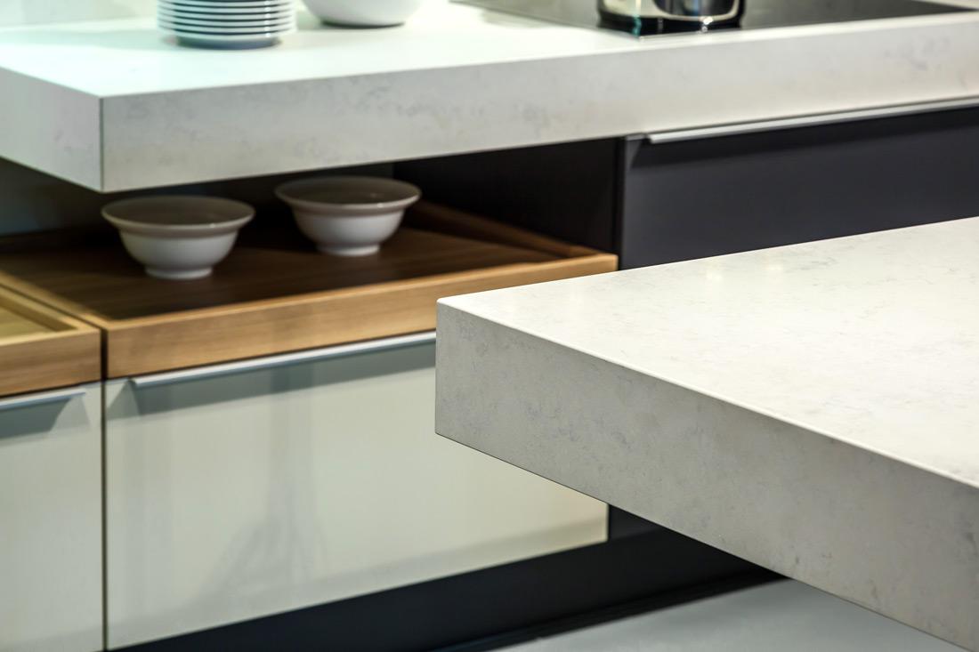 Werkblad keuken graniet of composiet het werkblad voor een