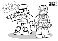 Point Brick Blog: Disegni da Colorare: Star Wars The Force ...
